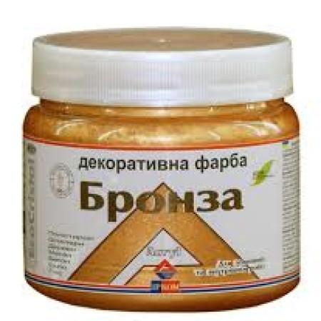 Ирком декоративная краска «металлик» (Бронза Ир-171) 0,4л
