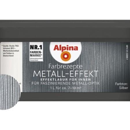 Alpina Effekt Metall Silber