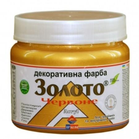 Ирком декоративная краска «металлик» (Золото ИР-152) 0,4л