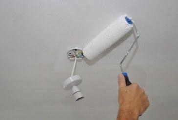 Покраска потолка своими руками это удивительно просто