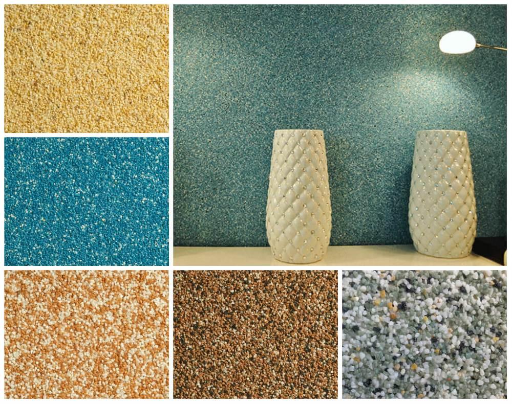 Декоративная мозаичная штукатурка как материал для оформления экстерьеров